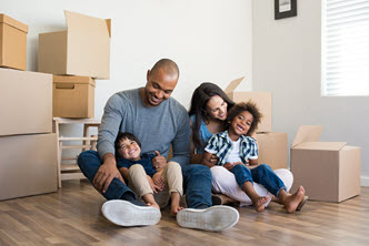 Real Estate Family Moving